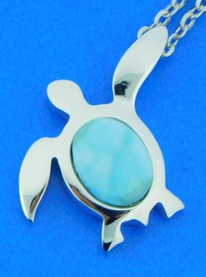 alamea sea turtle pendant sterling silver