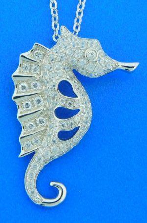 alamea seahorse pendant
