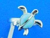 alamea larimar turtle ring sterling silver