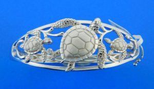 sterling silver alamea turtle bracelet
