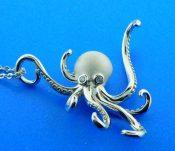 sterling silver alamea octopus pendant