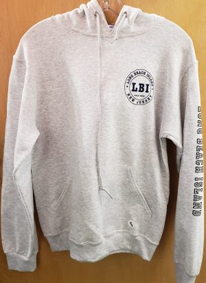 lbi ash gray hoodie