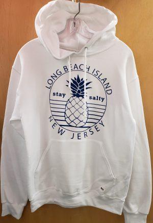 long beach island pineapple hoodie