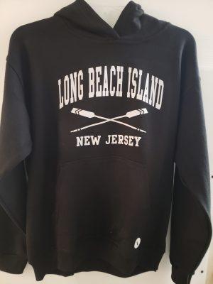 long beach island kids hoodie