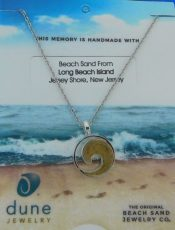 long beach island dune jewelry wave necklace