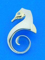 sterling silver steven douglas seahorse