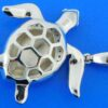 sterling silver sea turtle sterling silver pendant