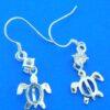 alamea honu sea turtle dangle earring