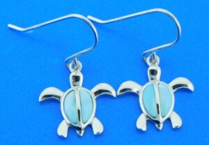 alamea sea turtle dangle earrings