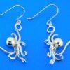 sterling silver alamea octopus earrings