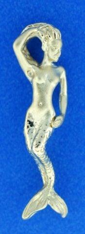 14k steven douglas mermaid pendant